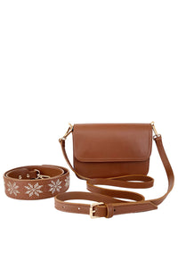 Casablanca Handbag - Brown