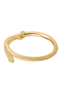 Serpent Wrap Bracelet - Gold