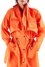 Load image into Gallery viewer, Safari Trench Coat - Orange
