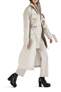 Safari Trench Coat - Beige