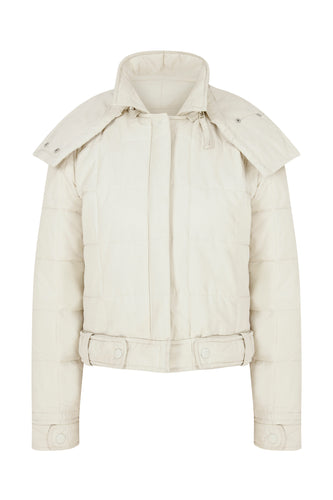 Mini Me Light Puffer - Off-White
