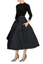 Load image into Gallery viewer, Balloon Skirt - Black