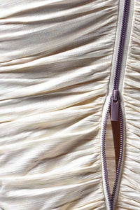 Ruched Pearl Skirt
