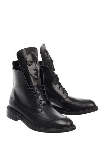 Zelos Art Boots - Black
