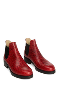 Chelsea Boots - Red