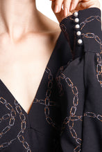 Load image into Gallery viewer, Chain Print Dress