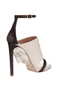 Hypnos Art Open Toe Pumps - Marble