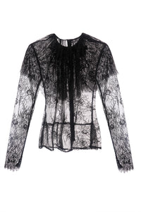 Lace Cape Collar Blouse
