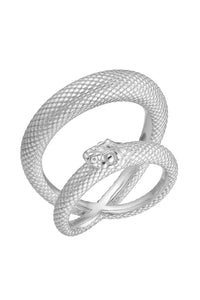 Serpent Ring - Silver