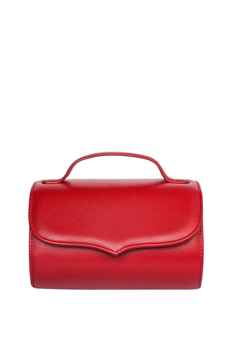 Cylinder Shoulder Bag - Red