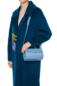 Cylinder Shoulder Bag - Blue