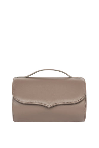 Cylinder Shoulder Bag - Taupe
