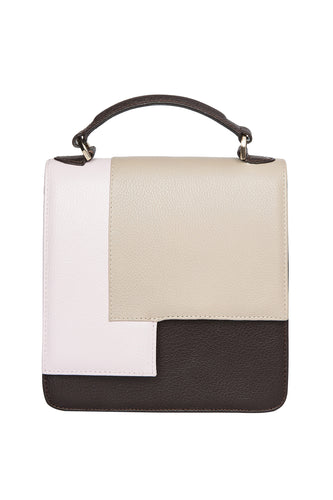 Square Patchwork Shoulder Bag