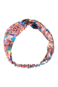 Harlequin Silk Head Band