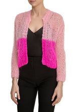 Load image into Gallery viewer, Open Weave Cardigan - Pink