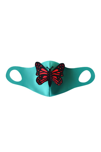 Butterfly Face Mask (Filter Pocket)