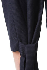 Pinstripe Trousers with Tails