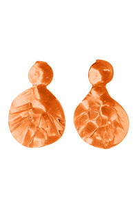 Ixora Earrings - Orange