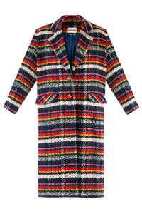 Signature Plaid Coat