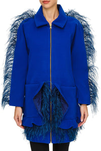 Feather Zip Jacket