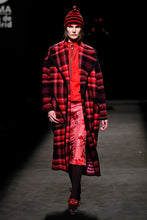 Load image into Gallery viewer, Plaid Menswear Coat