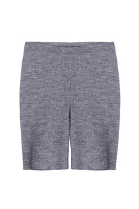 Ribbed Knit Bike Shorts
