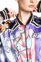 Load image into Gallery viewer, Modernist Print Track Jacket