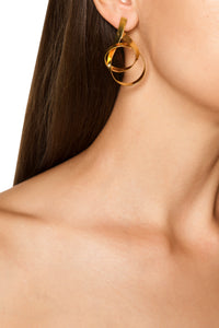 Mobious Loop Earrings