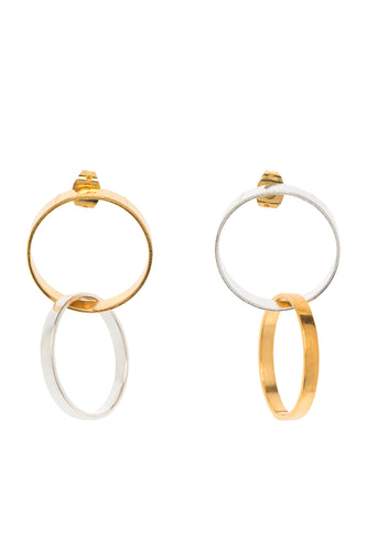 Hoop Link Earrings