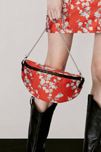 Load image into Gallery viewer, Red Floral Handbag
