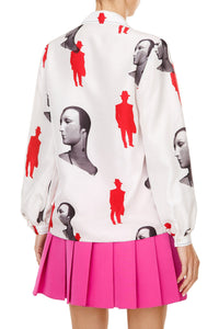 Mannequin Print Tailored Shirt