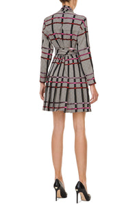 Halter Tie Kilt Dress