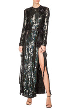 Load image into Gallery viewer, Sequin Evening Gown - Black