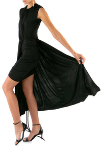 Drape Ruched Dress