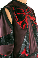Load image into Gallery viewer, Sequin Bow Silk Gown