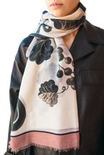 Load image into Gallery viewer, Oversized Grapes Scarf - Rose