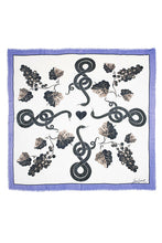 Load image into Gallery viewer, Oversized Grapes Scarf - Blue