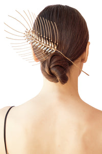 Feather Barrette