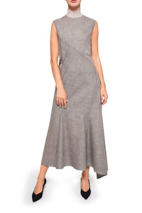 Asymmetric Panel Dress