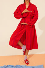 Load image into Gallery viewer, Long Kimono Silk Robe
