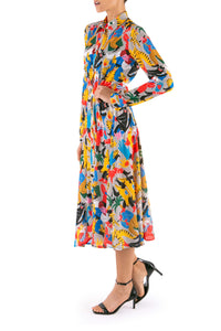 Catarina Print Shirtdress