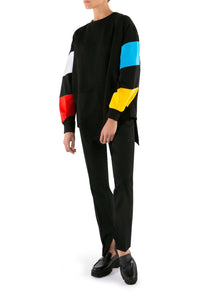 Twister Asymmetric Sweatshirt