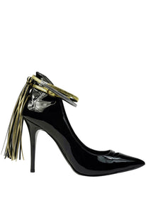 Sammy Patent Metallic Ankle Wrap