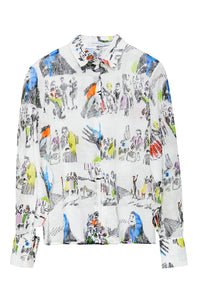 Illustrated Cotton Shirt