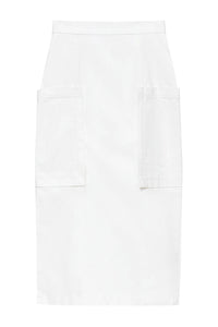 Patch Pocket Slim Skirt
