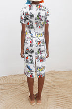 Load image into Gallery viewer, Illustrated Neoprene Dress
