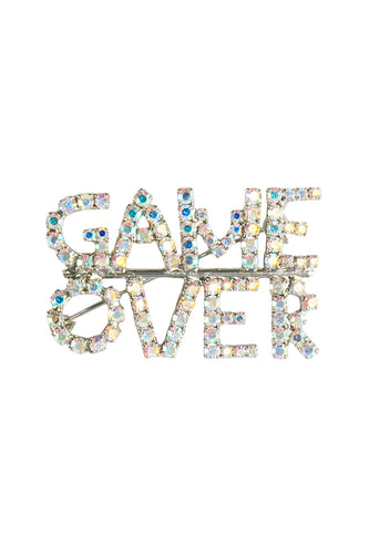 Game Over Brooch