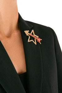 Star Arrow Brooch