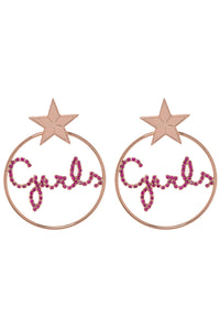 Girls Hoop Earrings
