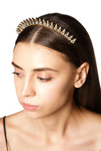 Load image into Gallery viewer, Crystal Spikes Headband